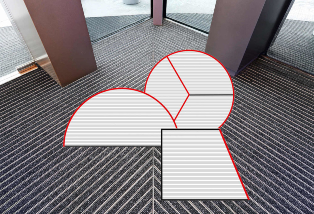 Geggus Entrance matting Special Shapes