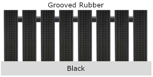 Geggus Grooved Rubber Colour