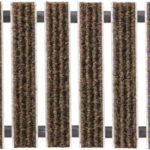 Geggus Ribbed Carpet Colour Brown