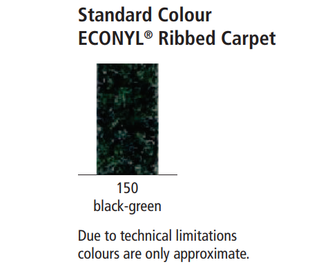 Top Clean TREND with ECONYL Ribbed Carpet Colour
